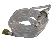 50-2021 10' Clear Hose w/Transparent In-Line Water Trap
