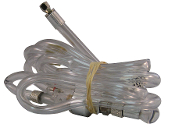 50-2026 6' Clear Hose w/Transparent In-Line Water Trap