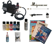 USA-MASS Multi Airbrush Starter System